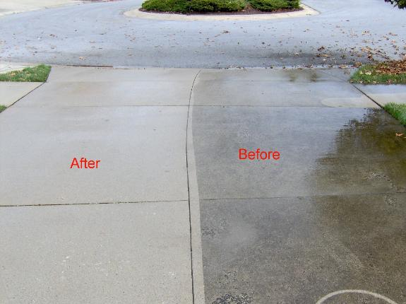 Niagara pressure washing niagara window washing for What to clean concrete with